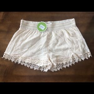 Stretch Crotchet Shorts